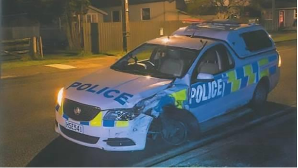 Dangerous Spate of Ramming Assaults on Police Cars in New Zealand